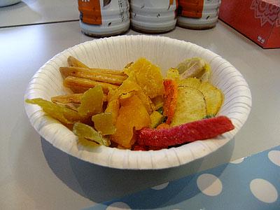 干し芋、ドライマンゴー、野菜チップ@楽天マートさんの試食会